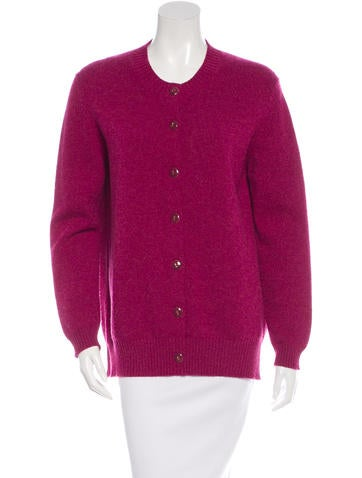 Barrie Cashmere Knit Cardigan None