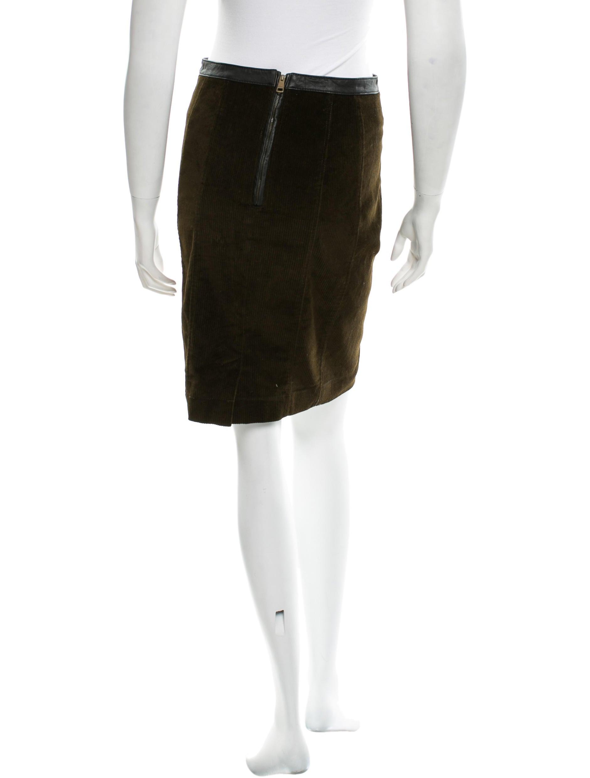 burberry brit corduroy a line skirt skirts bbr22078