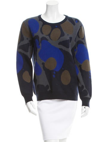 Burberry Brit Patterned Cashmere Sweater None