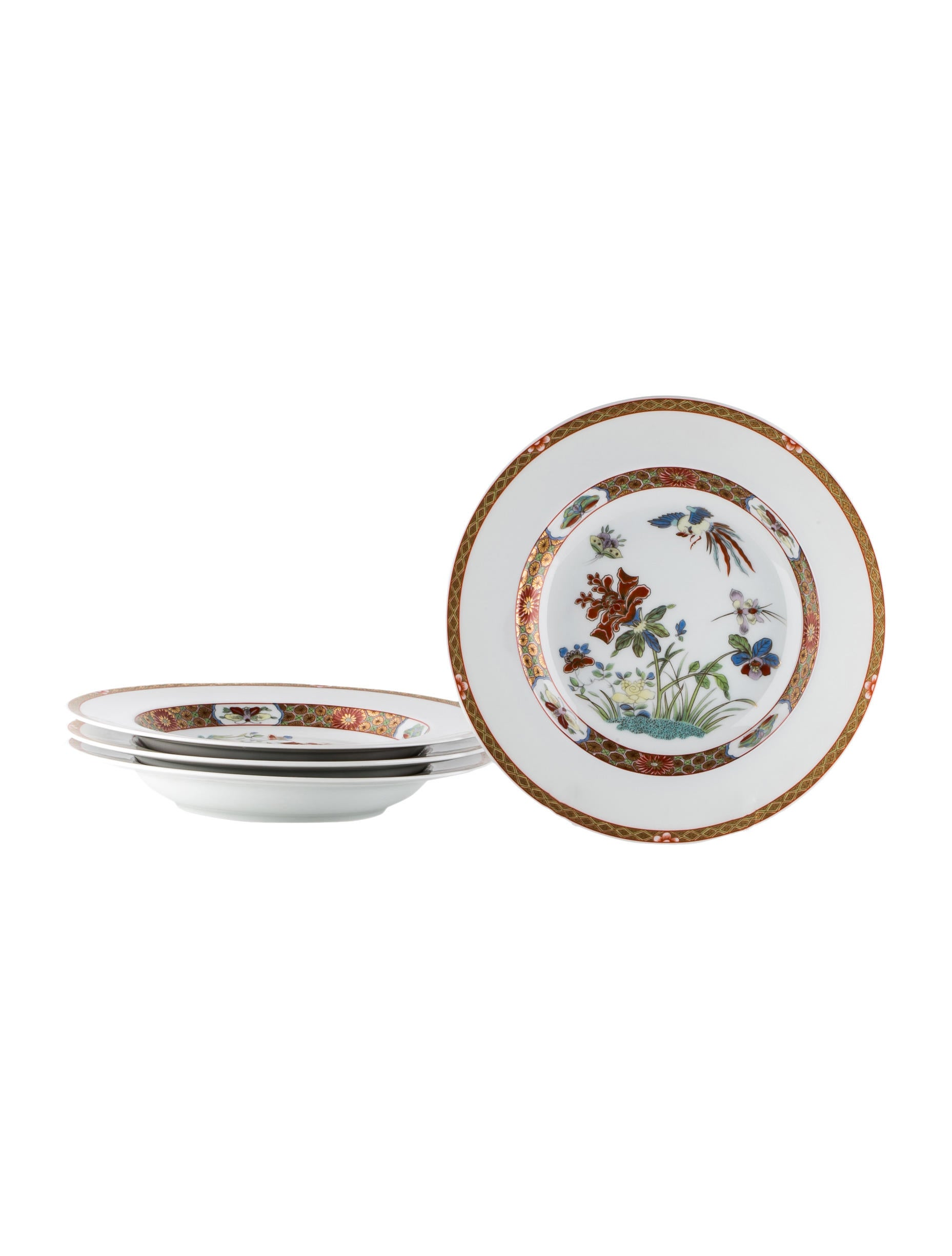 Bernardaud chef d 39 oeuvre soup plates tabletop and kitchen bdd20012 the realreal - Chef d oeuvre ...