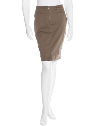 Belstaff Pocketed Pencil Skirt None