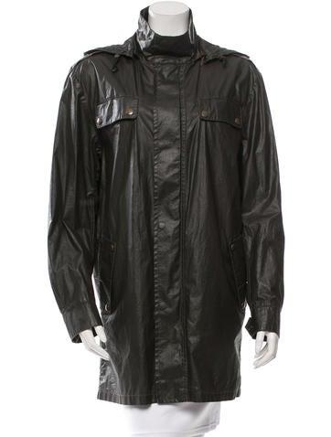 Belstaff Hooded Lightweight Jacket None