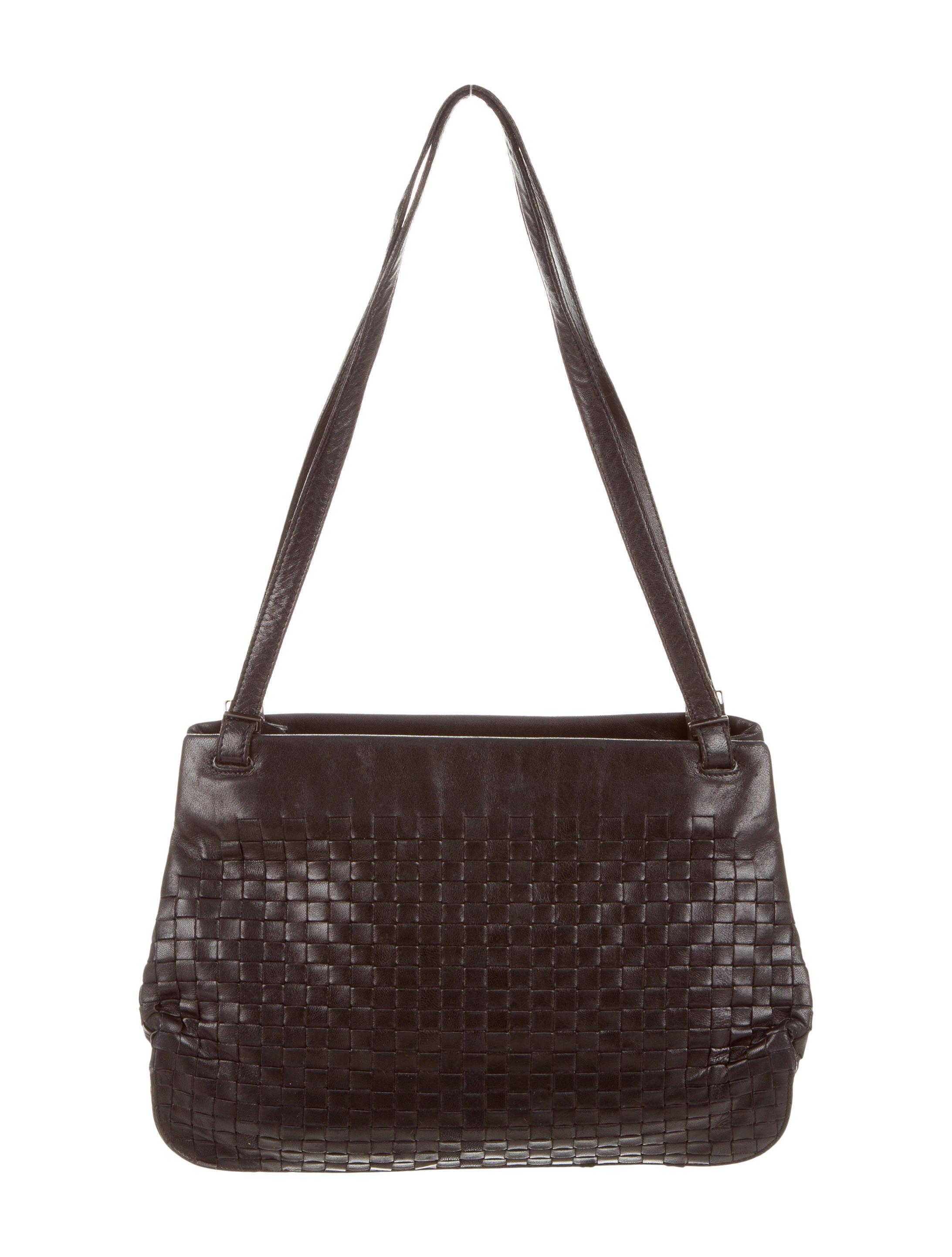 bottega veneta intrecciato shoulder bag handbags