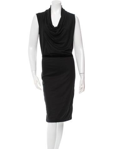 Bottega Veneta Cashmere Midi Dress w/ Tags None