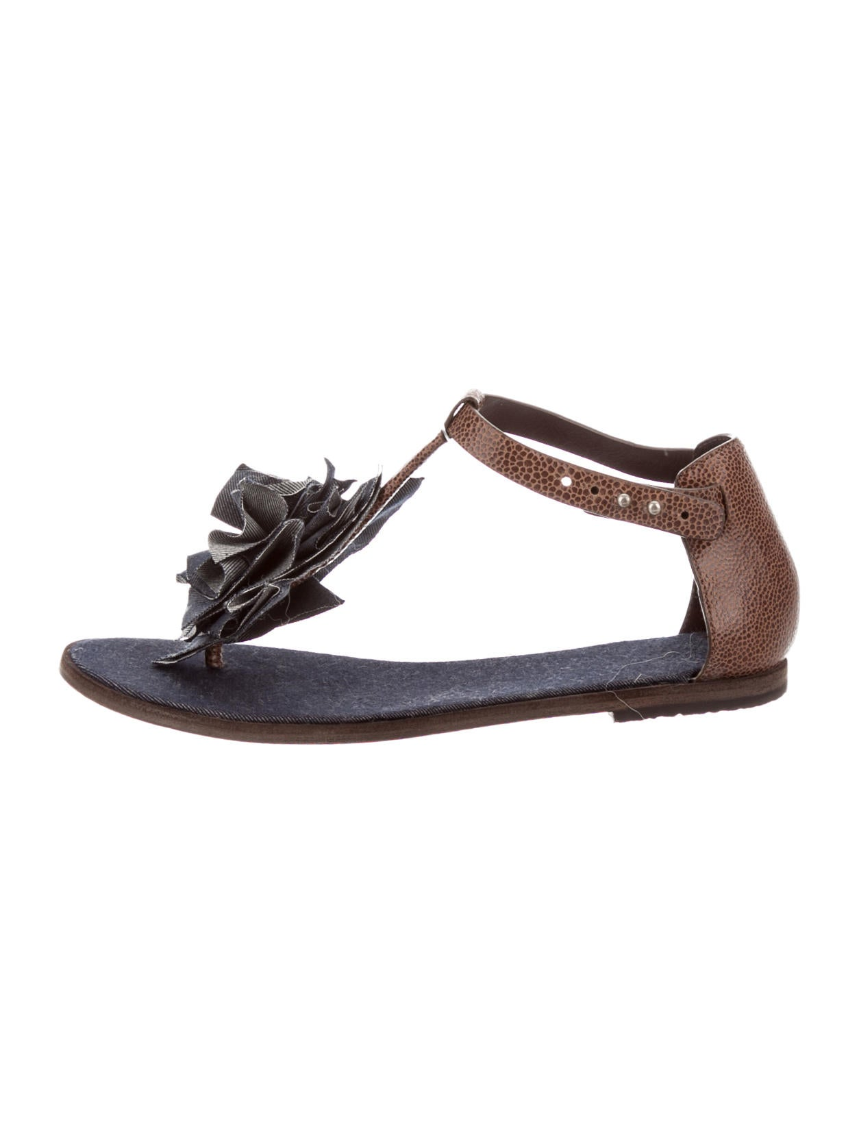 brunello cucinelli sandals shoes bru26587 the realreal