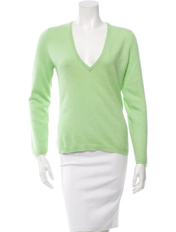 Brunello Cucinelli V-Neck Cashmere Sweater None