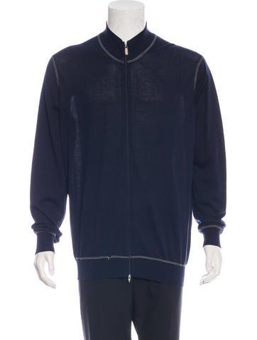 Brunello Cucinelli Long Sleeve Zip Sweater None