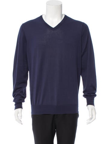 Brunello Cucinelli Pullover V-Neck Sweater None