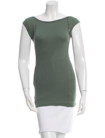 Brunello Cucinelli Metal-Embellished Sleeveless Top None