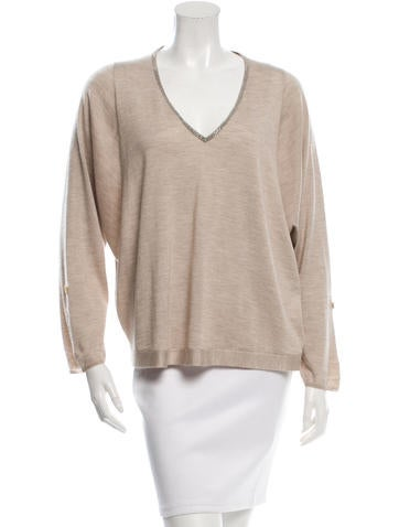 Brunello Cucinelli Cropped Cashmere Sweater None