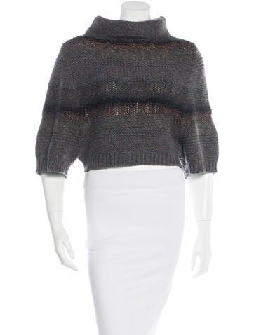 Brunello Cucinelli Striped Cashmere Sweater None