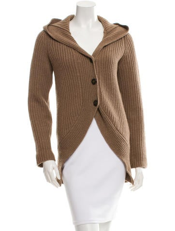 Brunello Cucinelli Cashmere Hooded Cardigan None