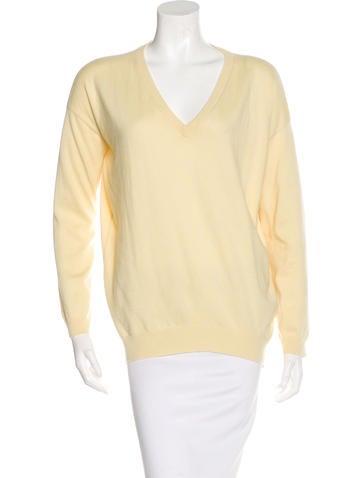 Brunello Cucinelli Cashmere Rib Knit Sweater None