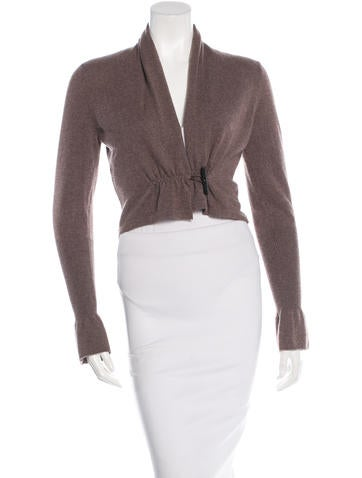 Brunello Cucinelli Cropped Cashmere Cardigan None