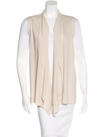 Brunello Cucinelli Silk-Trimmed Knit Vest None