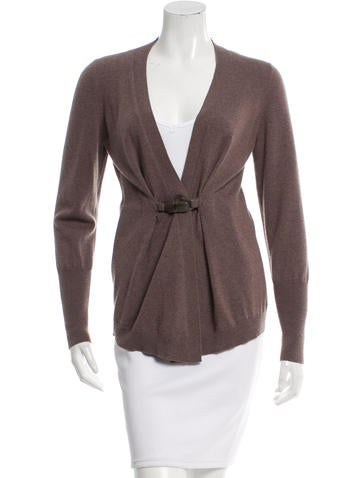 Brunello Cucinelli Cashmere Single-Closure Cardigan None