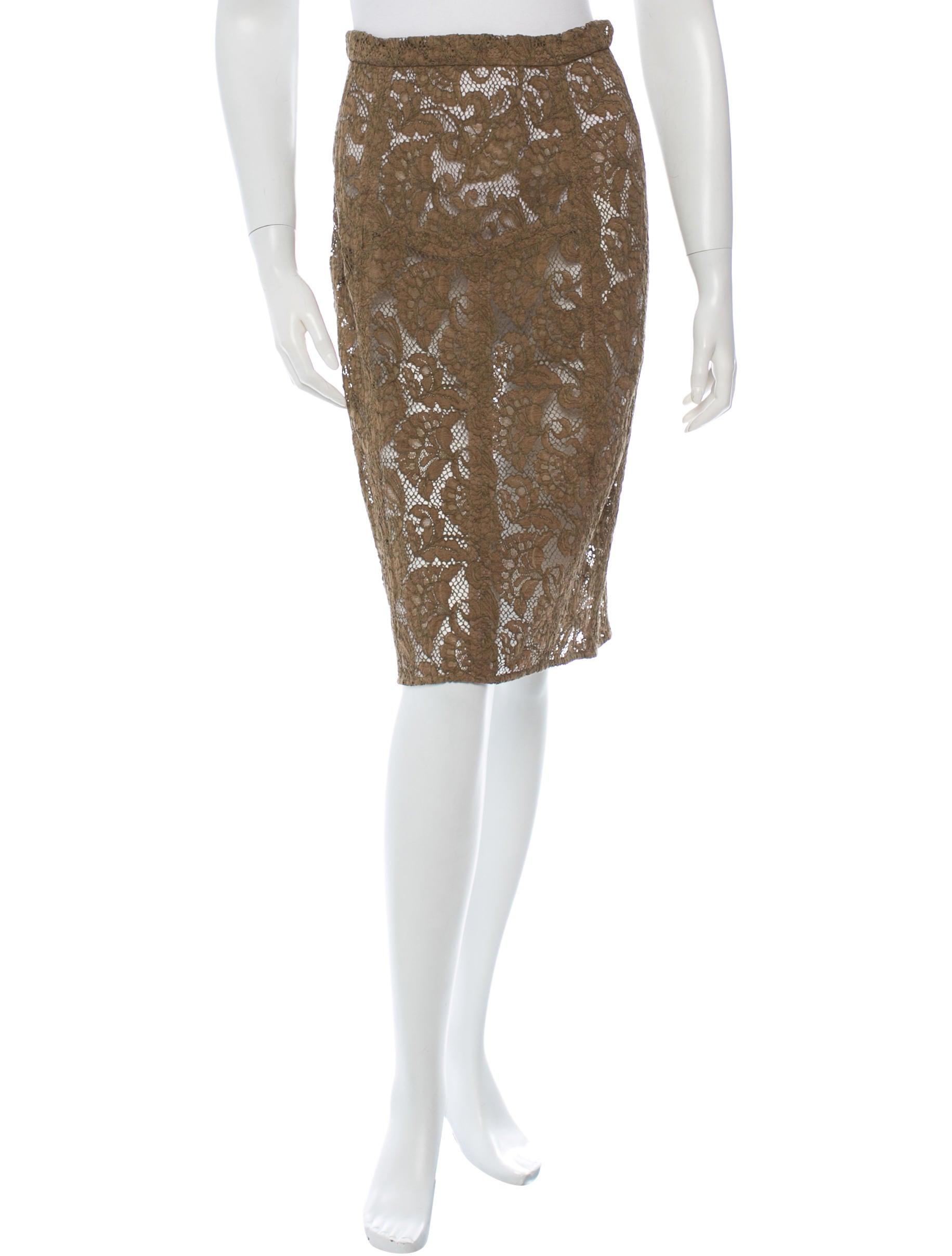 burberry prorsum lace a line skirt skirts buf21028
