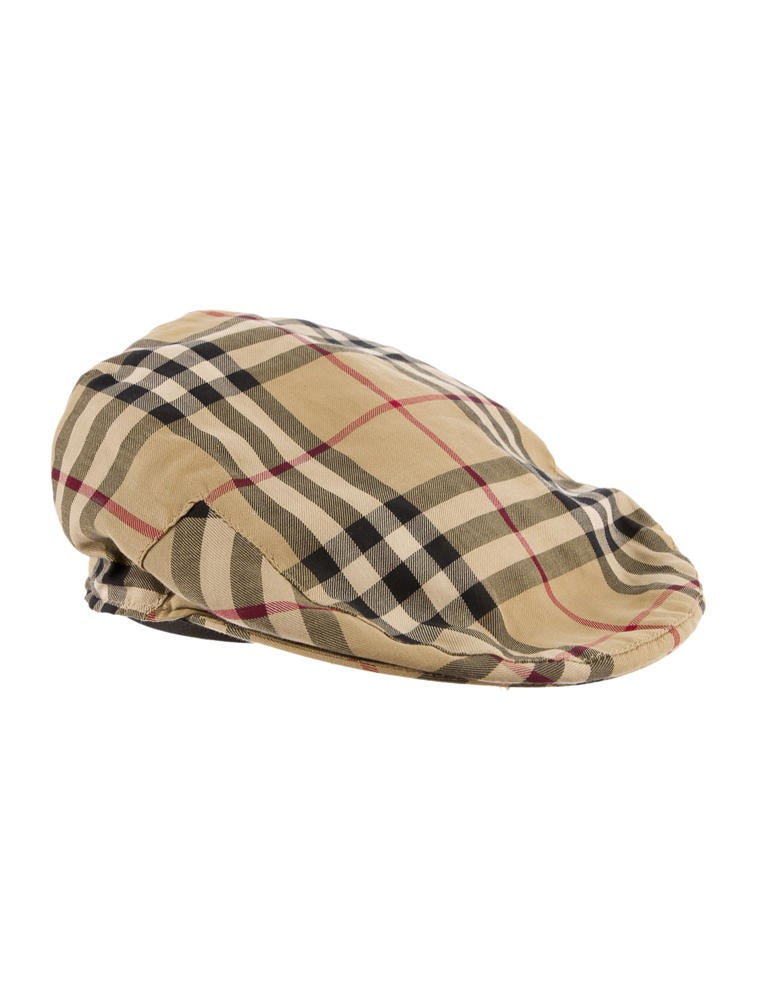 burberry check newsboy hat accessories