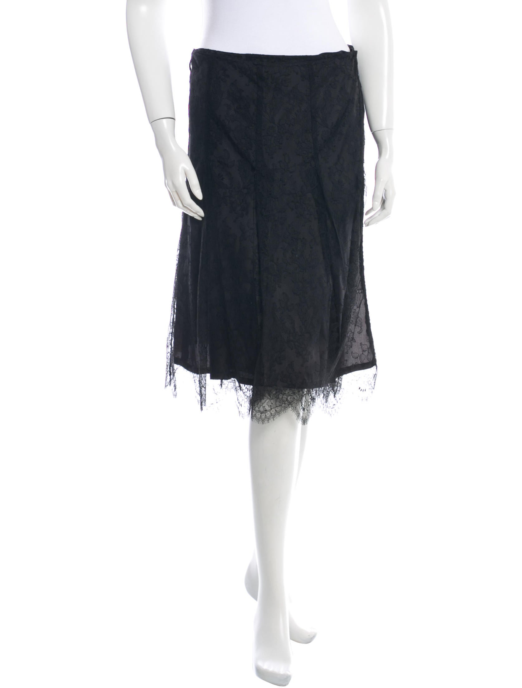 burberry lace skirt clothing bur37245 the realreal