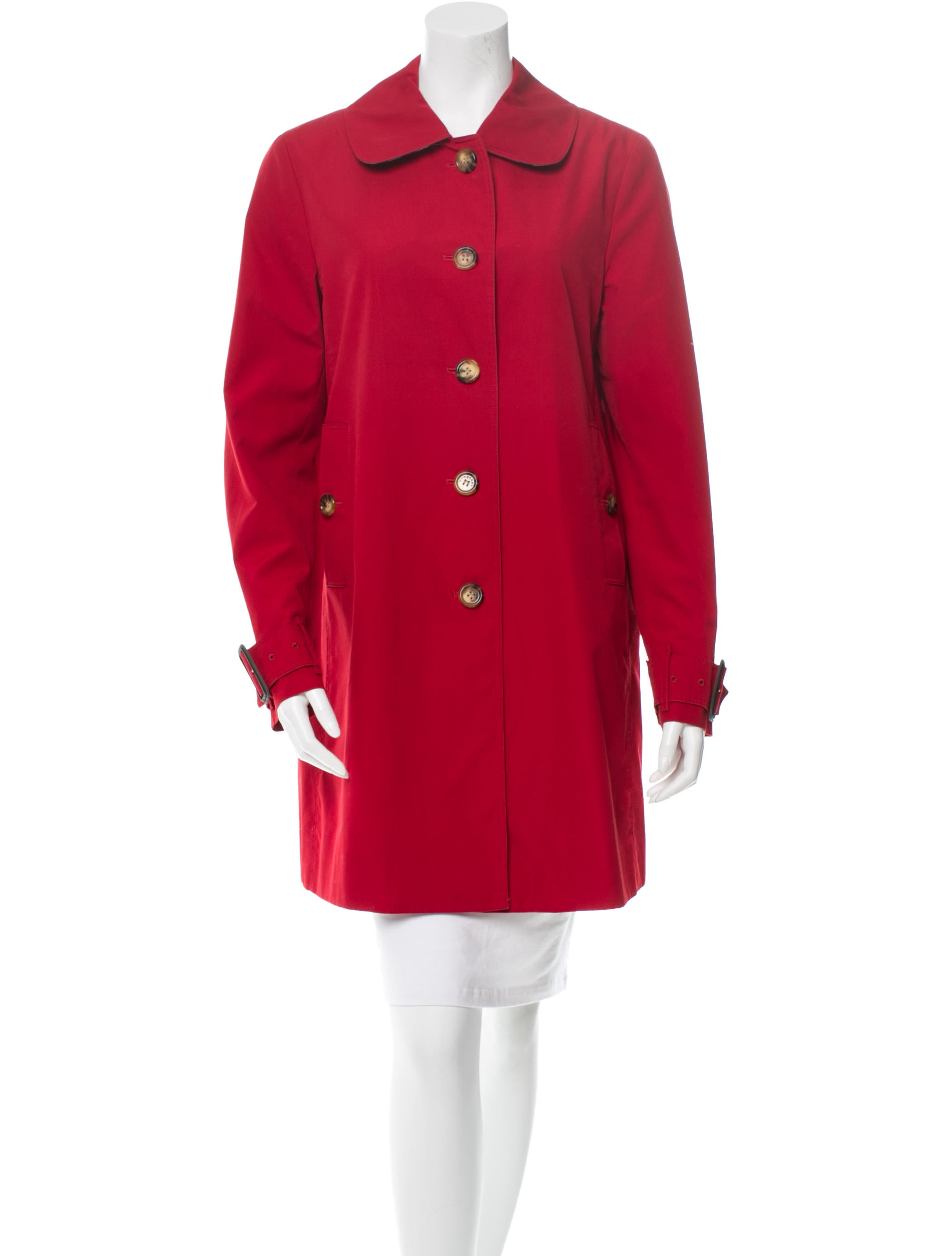 burberry trench coat clothing bur39565 the realreal