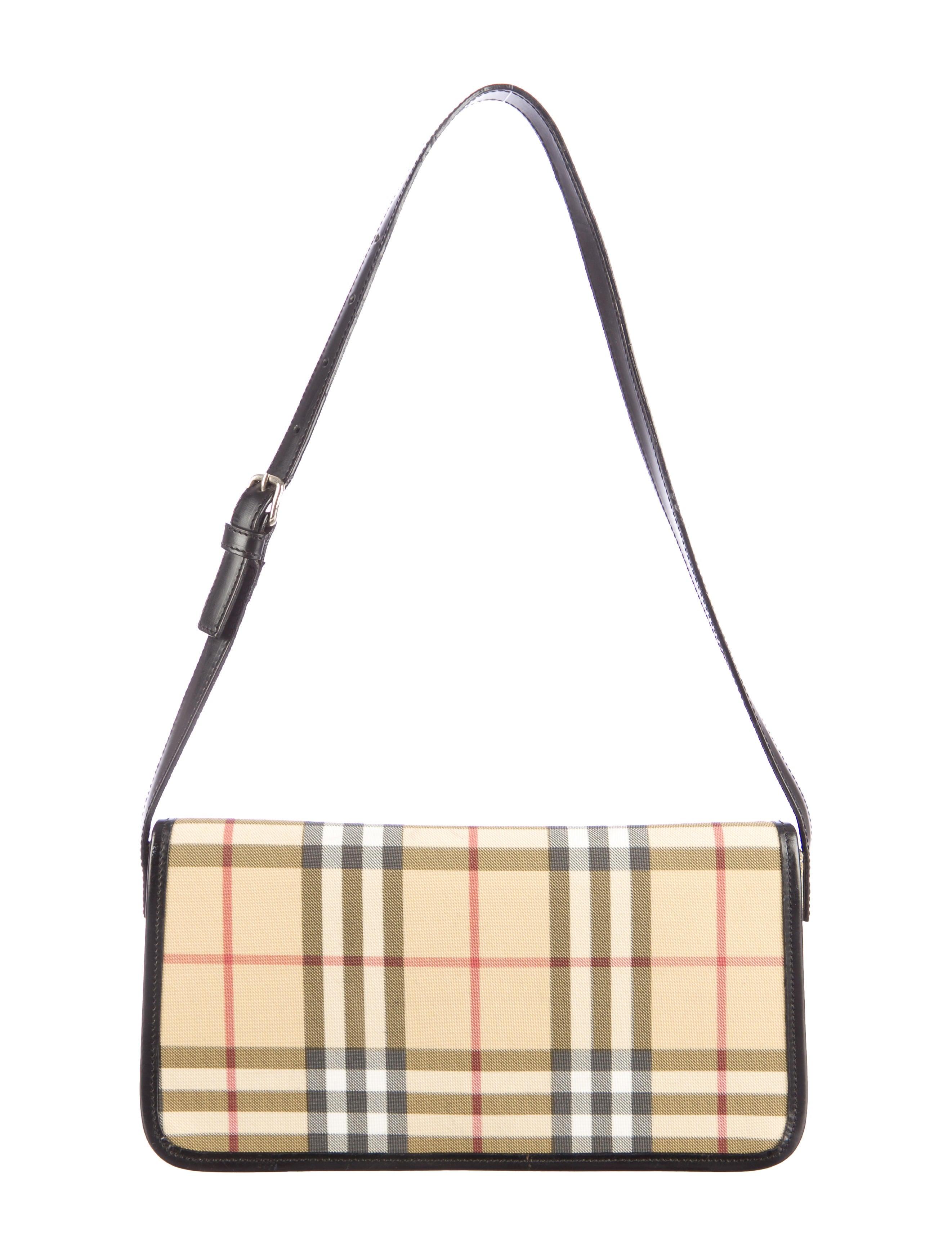 Burberry Nova Check Shoulder Bag - Handbags - BUR40959 ...