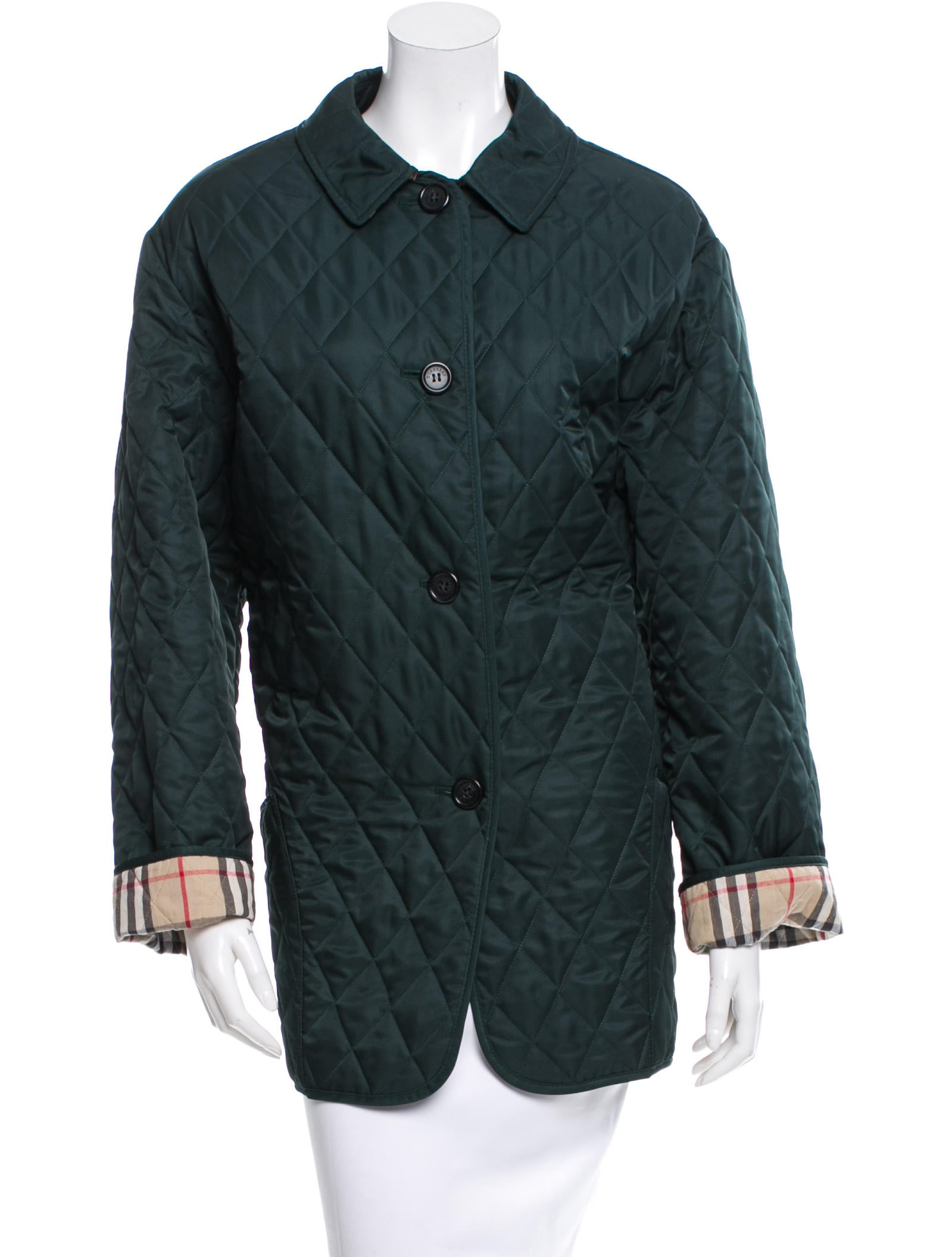 Burberry Lightweight Quilted Jacket Clothing Bur46715