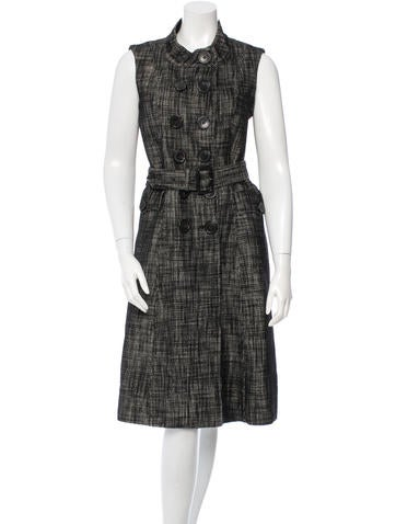 Burberry Wool Bouclé Dress
