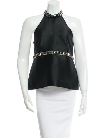 Burberry Embellished Sleeveless Top w/ Tags None