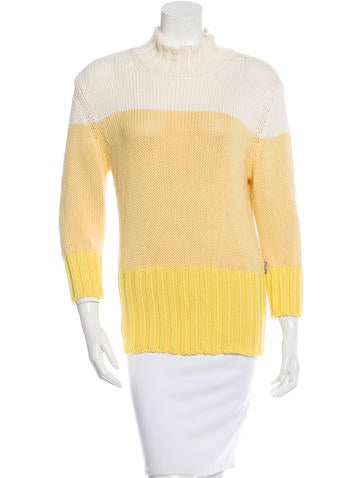 Burberry Colorblock Knit Sweater None