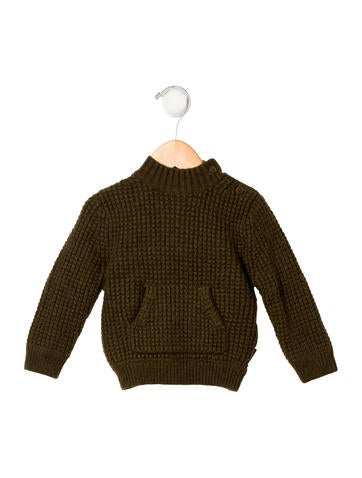 Burberry Boys' Wool Chunky Knit Sweater None