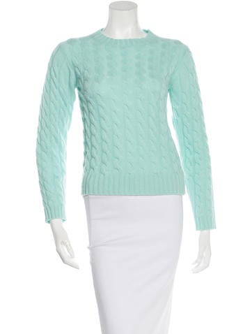 Burberry Cashmere Cable Knit Sweater None