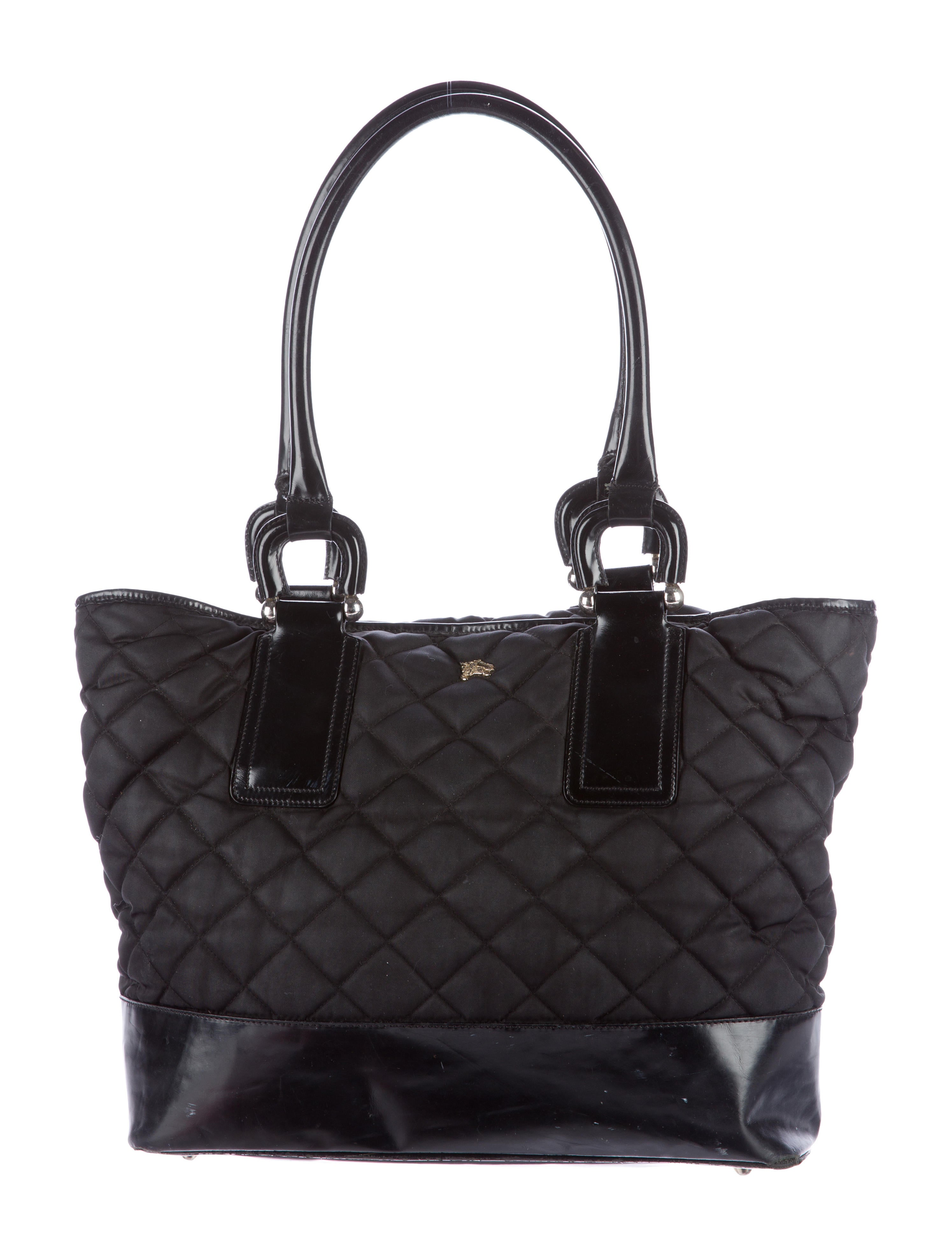 Quilted Nylon Tote 12