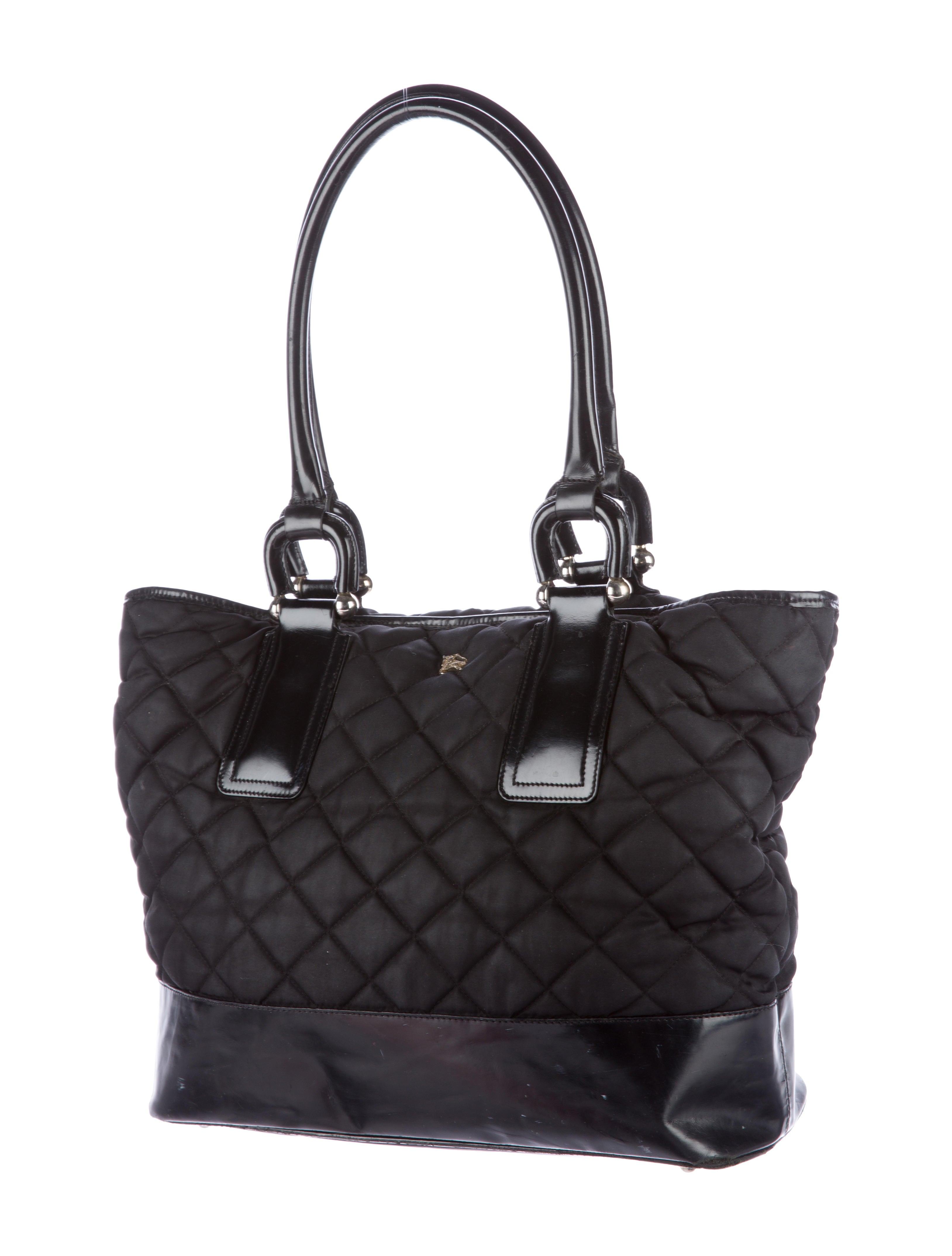 Quilted Nylon Handbag 59