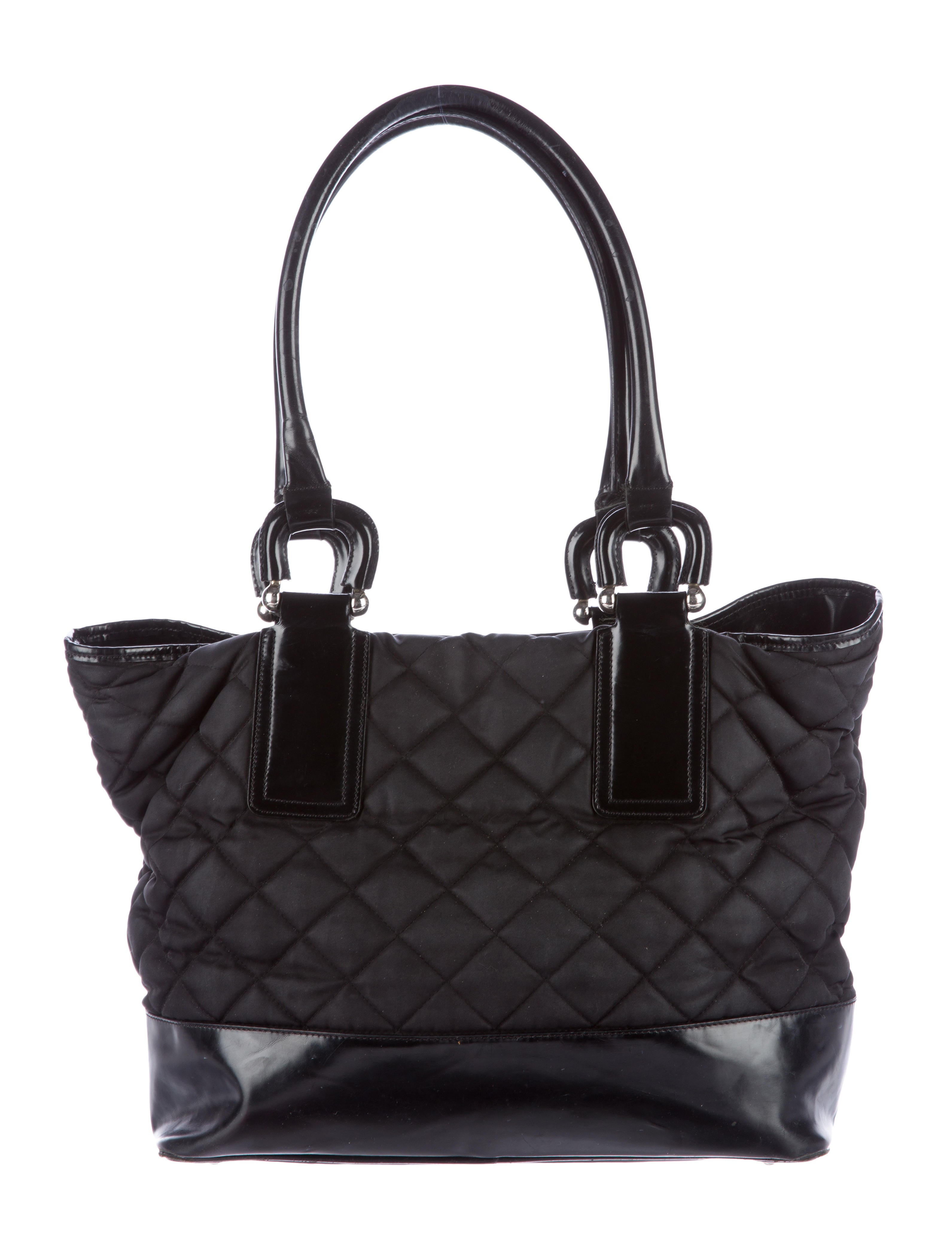 Quilted Nylon Tote 104