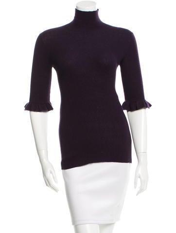 Burberry Cashmere Turtleneck Sweater None