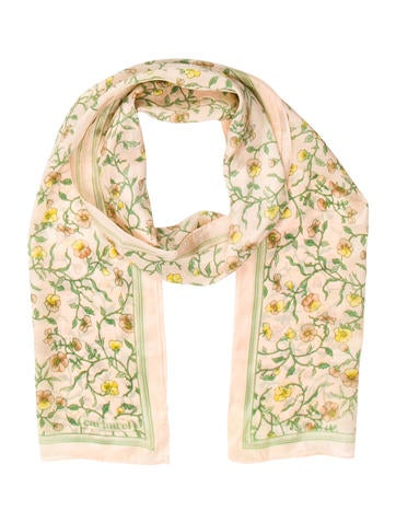 Cacharel Floral Print Scarf None