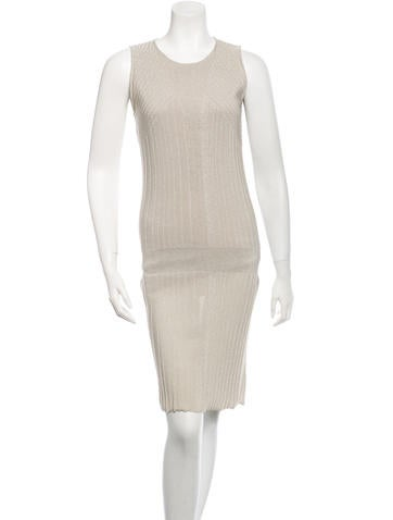 Calvin Klein Collection Ribbed Dress None