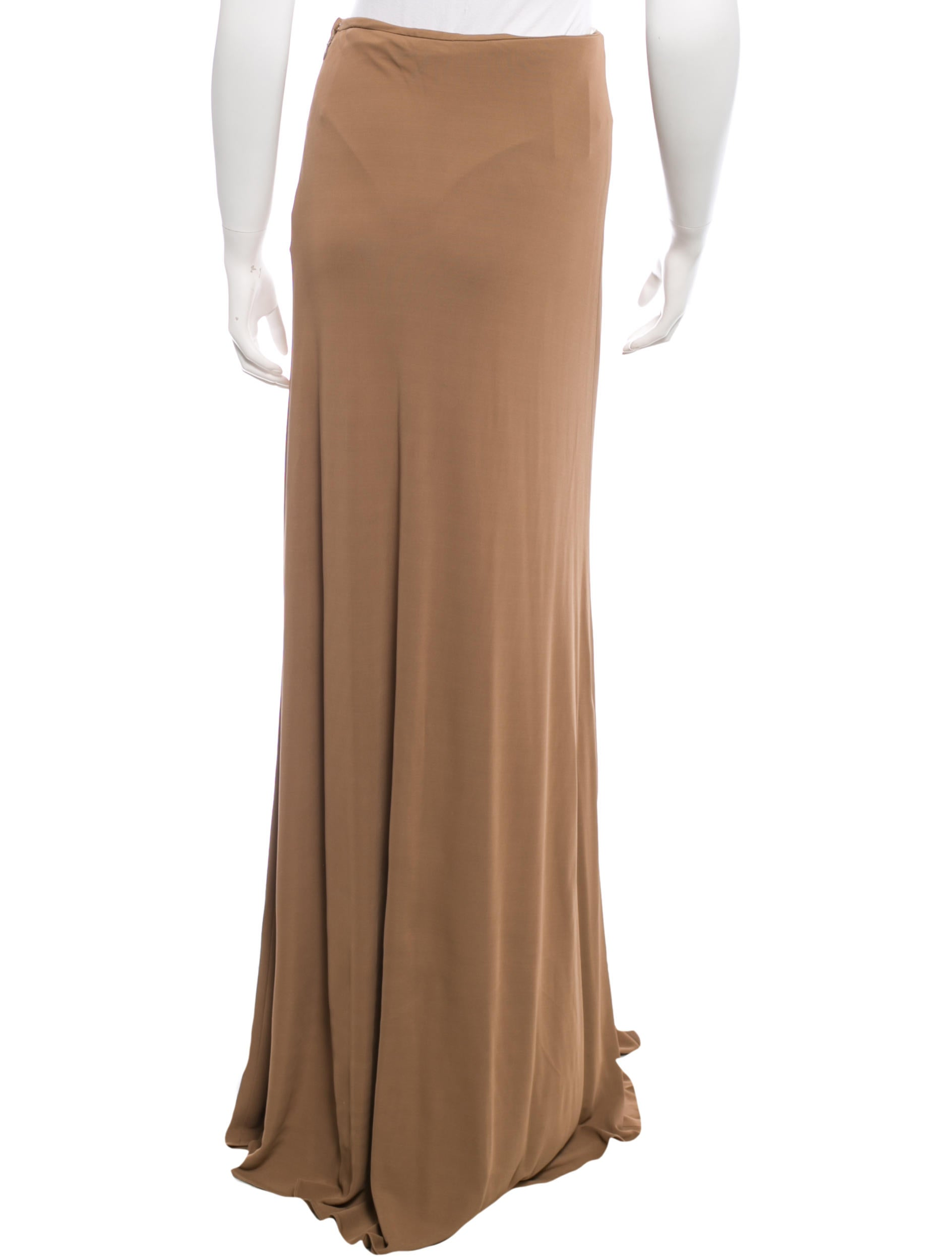 calvin klein collection layered maxi skirt w tags