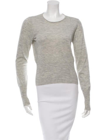 Calvin Klein Collection Wool Long Sleeve Top None