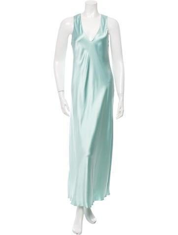 Calvin Klein Collection Silk Evening Dress None