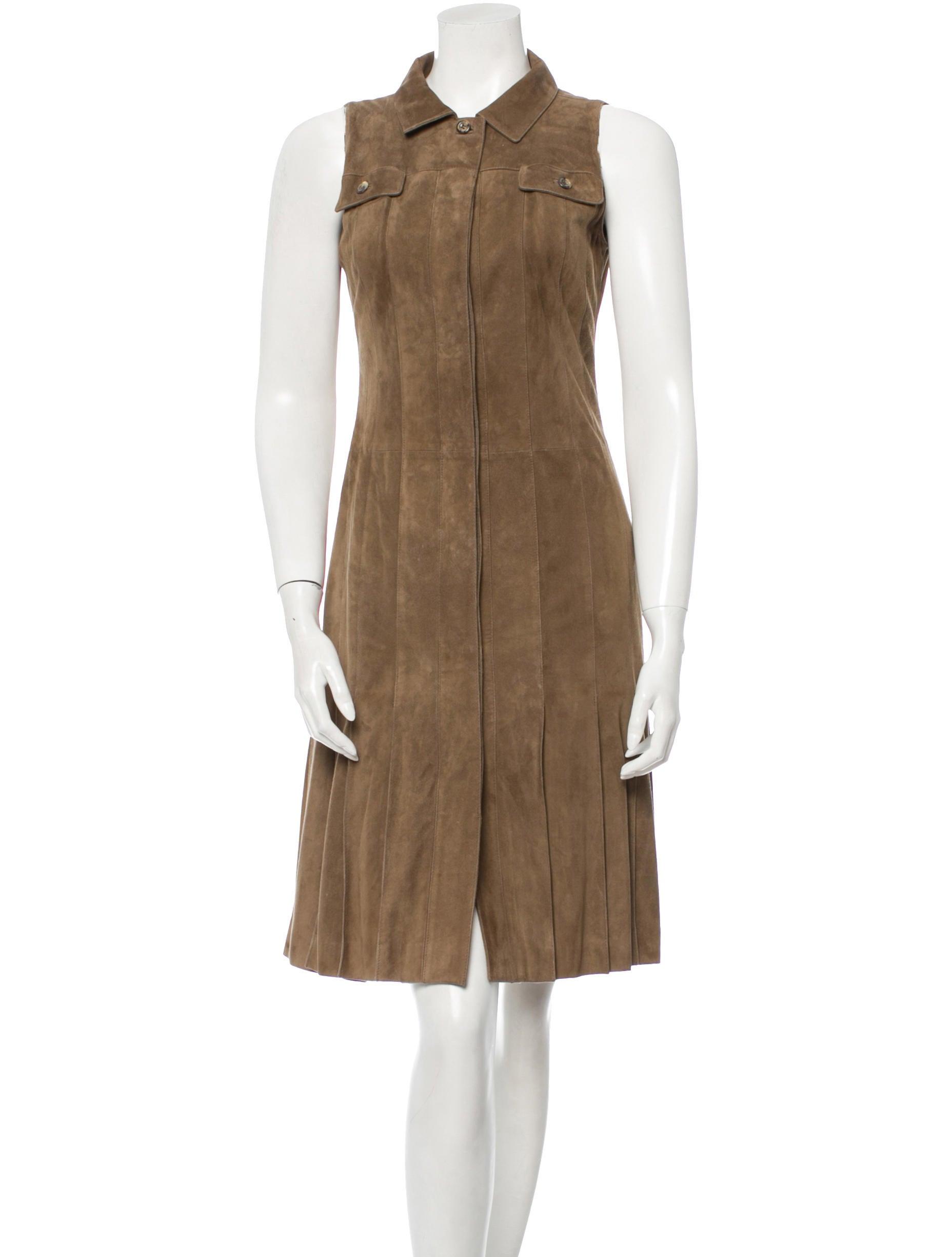 carolina herrera silk dress clothing cao23708 the