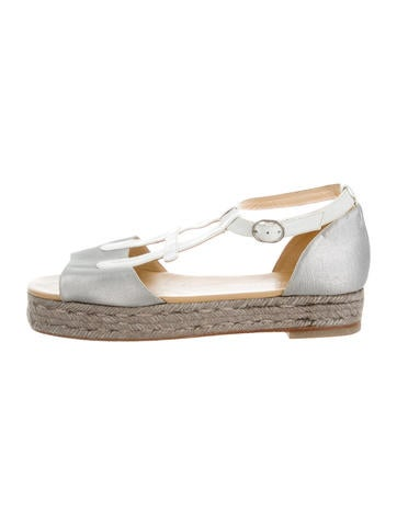 Carolina Herrera Multistrap Espadrille Sandals