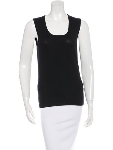 Carolina Herrera Sleeveless Wool Top w/ Tags None