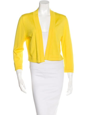 Carolina Herrera Wool & Silk-Blend Cardigan None