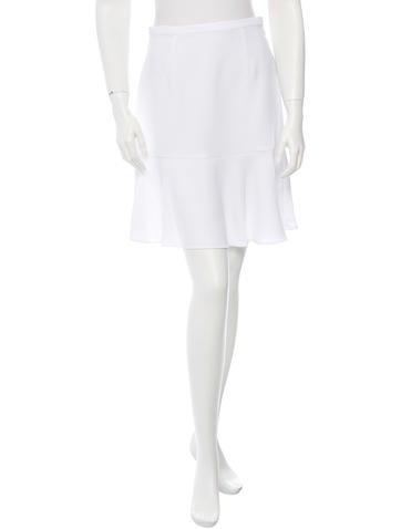 Carven Knee-Length Fluted Skirt None
