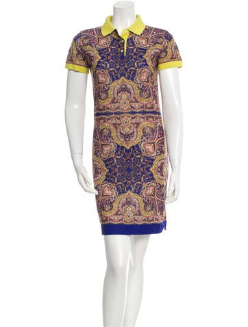 Carven Paisley Print Mini Dress None
