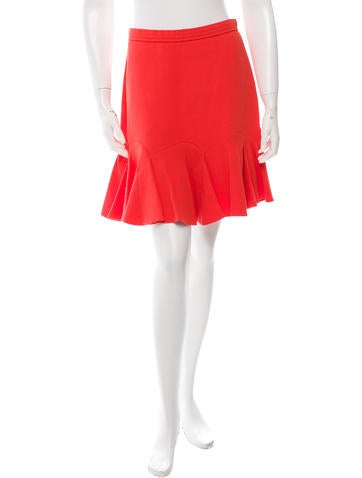 Carven Flared Mini Skirt None