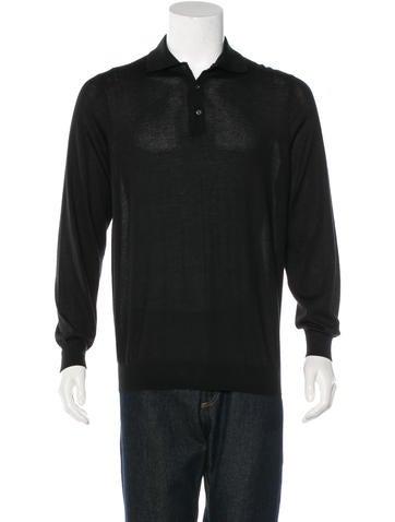 Cesare Attolini Cashmere Sweater Polo None