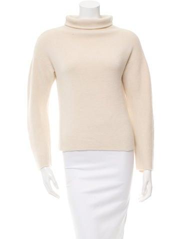 Cédric Charlier Alpaca Turtleneck Sweater