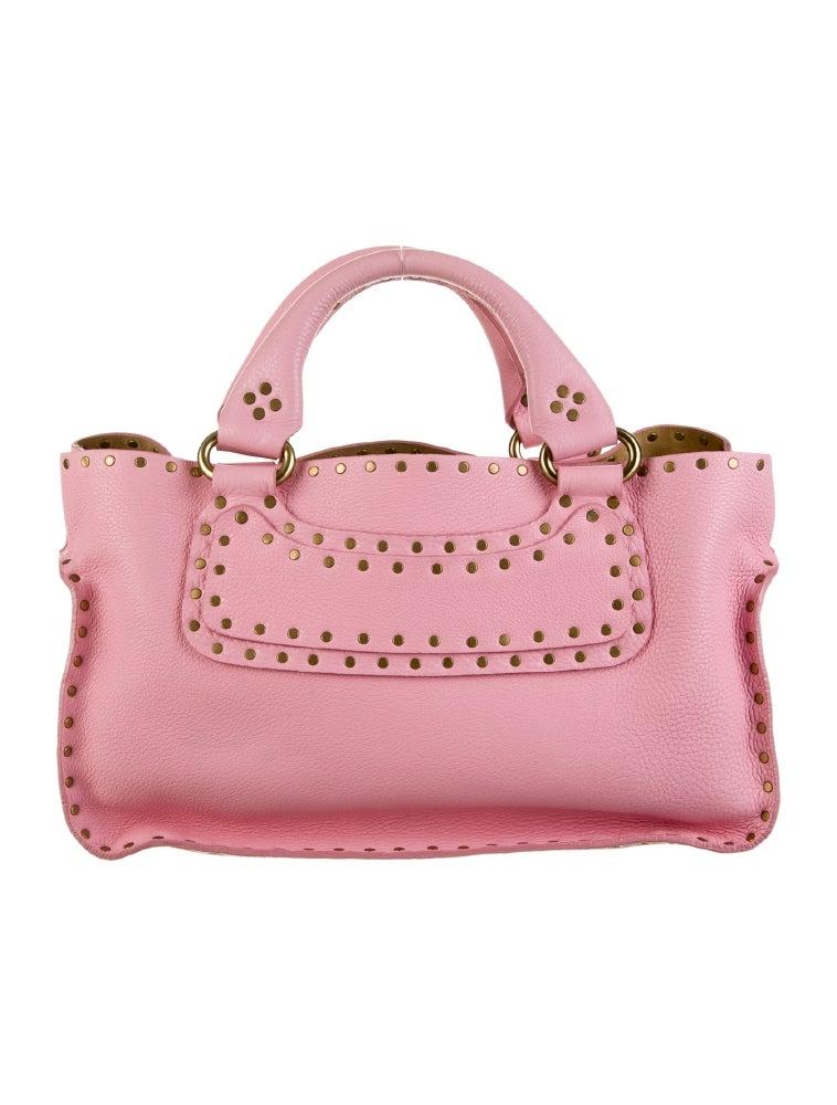 0ec74f3f3321 celine suede studded boogie bag imitation celine bag - C  line Studded Boogie  Bag - Handbags - CEL23199 ...
